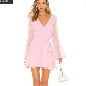Lovers + Friends Lila Dress in Pink